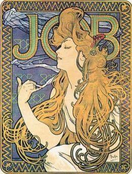 Alphonse Mucha/Art Nouveau: