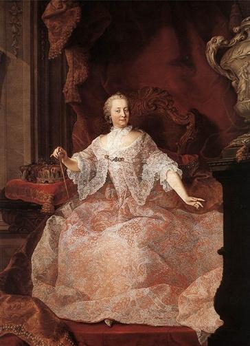 MEYTENS, Martin van    바로크 시대에는 프랑스와 영국이 유럽패션의 중심이 되었으며, Marie de medici와 루이14세는 그 당시 17세기 복식을 대표한다. 프랑스는 루프,태슬,자수 등의 남용으로 그들의 복식이 지나치게 화려해지는 유행을 막기 위해 사치 금지령을 내리기도 했다. 그러나 사치금지령은 효력을 발휘하지 못했으며, 과다한 장식의 사용으로 남성복식은 다소 경박한 느낌을 주었고 여성들의 복식은 화려함이 더욱 강조되었다. whisk collar나 falling collar 등 다양한 형태의 collar 들은 다른 시기의 복식과 이 시기의 복식을 구분짓는 중요한 요소가 되었다. 하지만 복식에 나타난 지나친 장식과열은 인간 자체의 아름다움을 표현하기 보다 의상을 위한 장식으로 그쳐버린다.