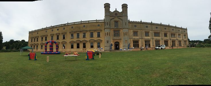 corporate event hire at Ashton court mansion Bristol with a team building package #uk