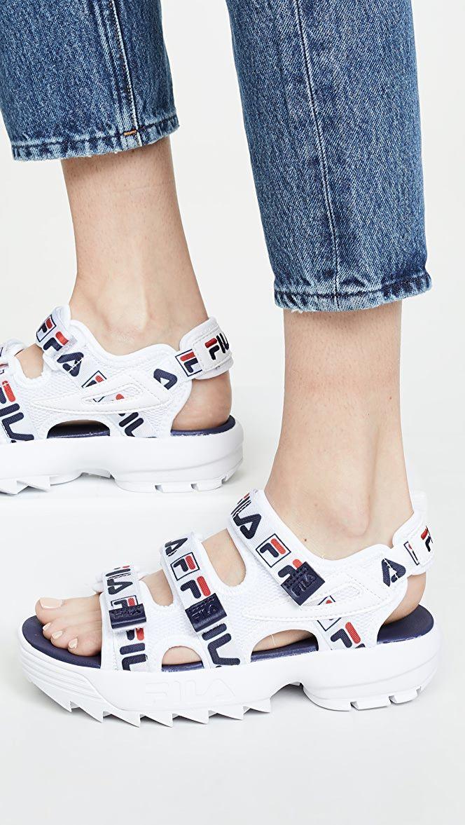 Fila sandals, Fila disruptors