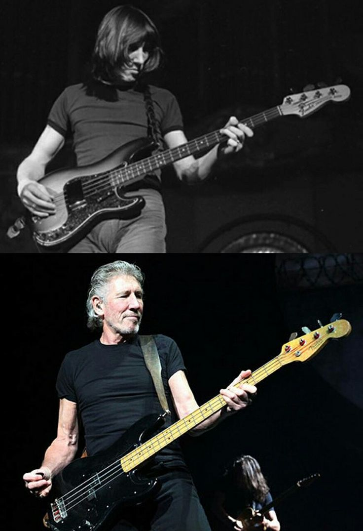 Roger Waters: Then and Now Not much different! Love Roger! What a poet!