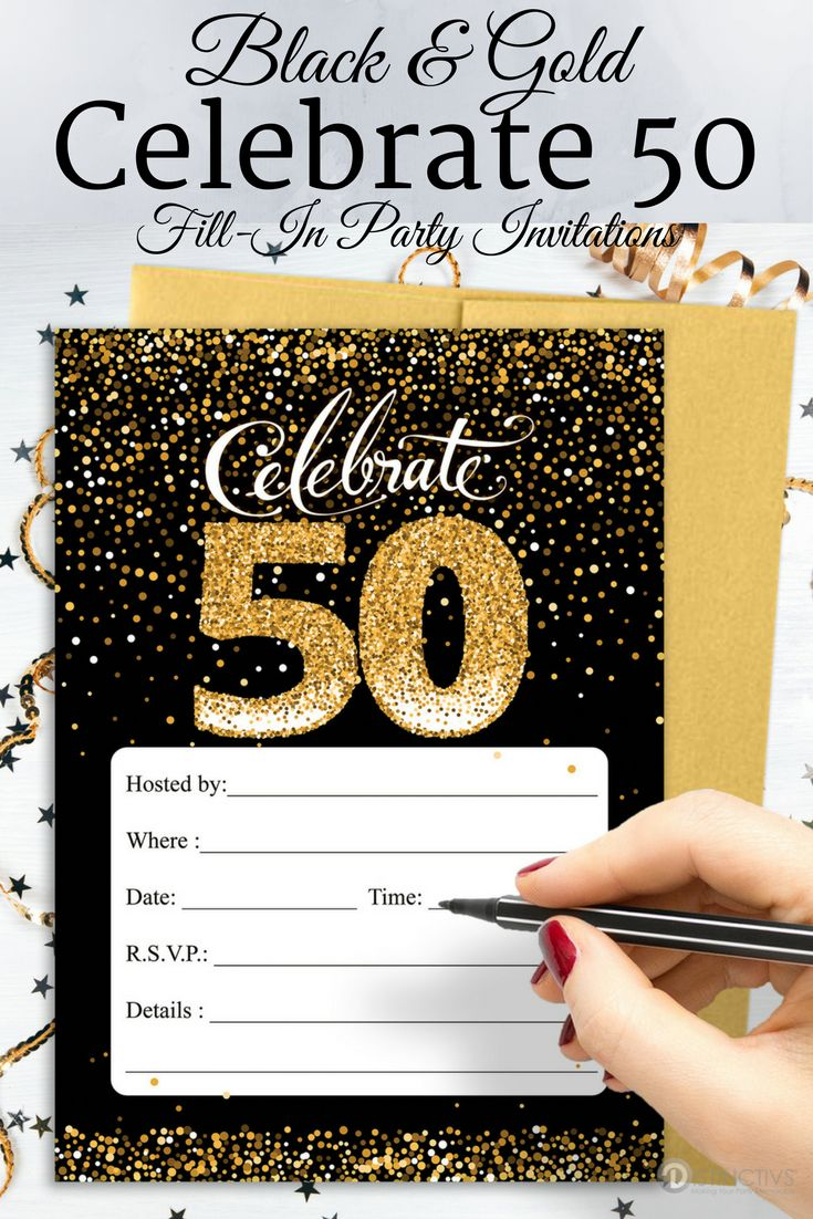 119 Best 50th Birthday Party Ideas Images On Pinterest 50 Birthday