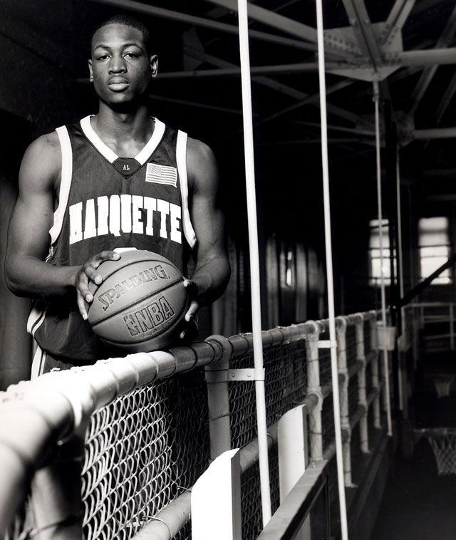 Marquette University alumnus Dwyane Wade #basketball