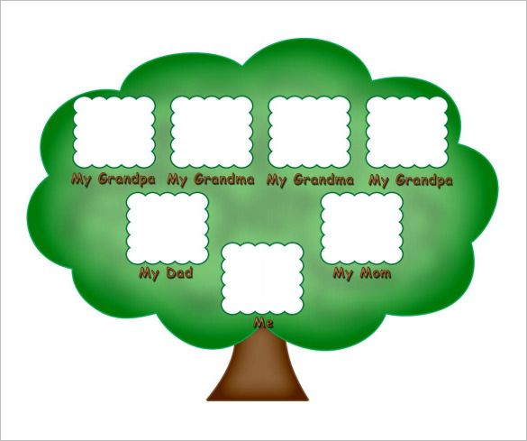 Kids Family Tree Template \u2013 10+ Free Sample, Example, Format