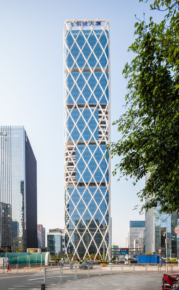 Shenzhen VC-PE Tower / Studio Georges Hung + Huazhu Architecture & Engineering Co. Ltd.