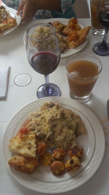 Almuerzo Jueves Santo