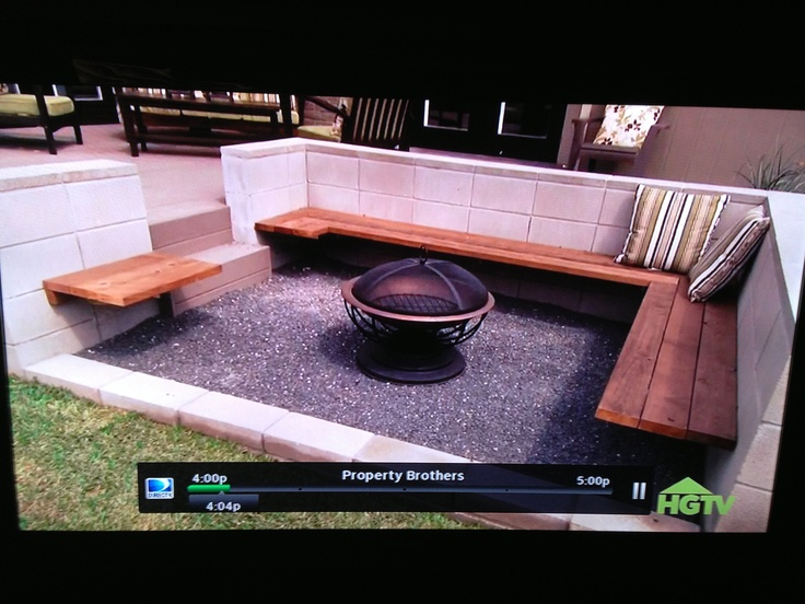 Fire Pit From Property Brothers