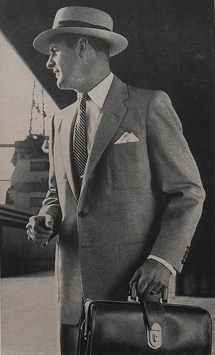 "this pin links to an ""Art of Manliness"" article about building a wardrobe for men and outlines different styles. Classy. Gotta love it."