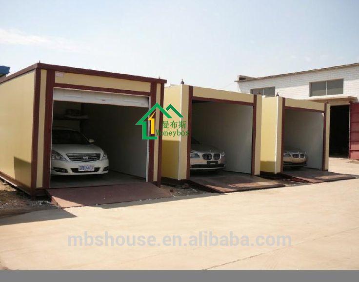 Prefab Car Garage Container Carport,Storage Container In Cheap Price ...