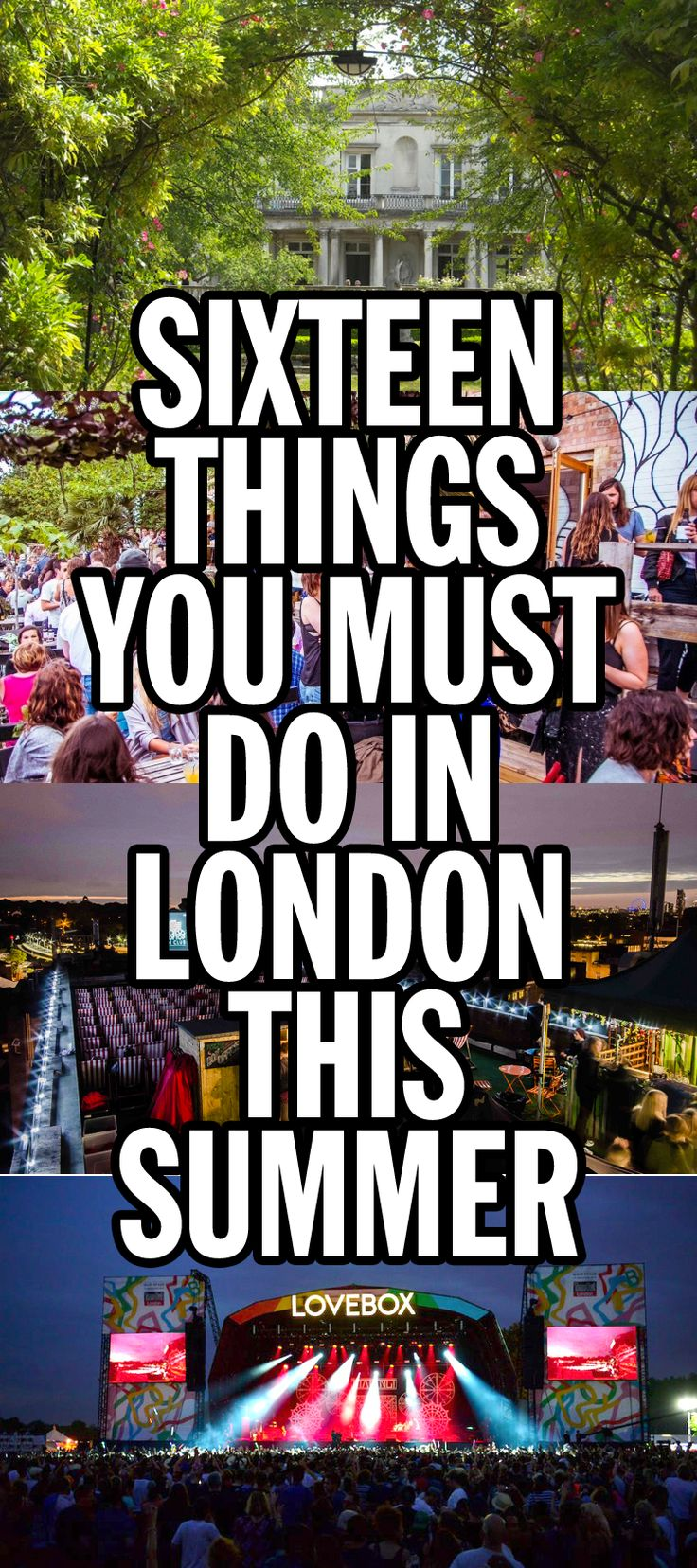 The summer has almost arrived in London! Here are the can't-miss events, gorgeous places to visit and classic traditions you ought to indulge in.