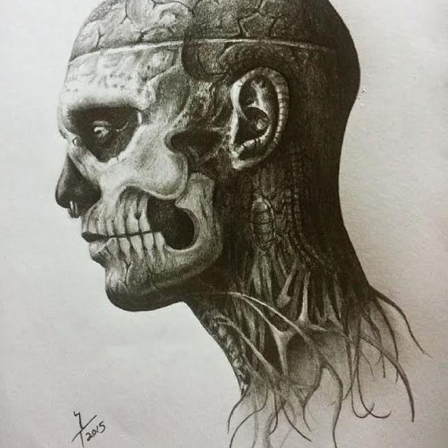 Zombie Boy – Rico the zombie – Rick Genest