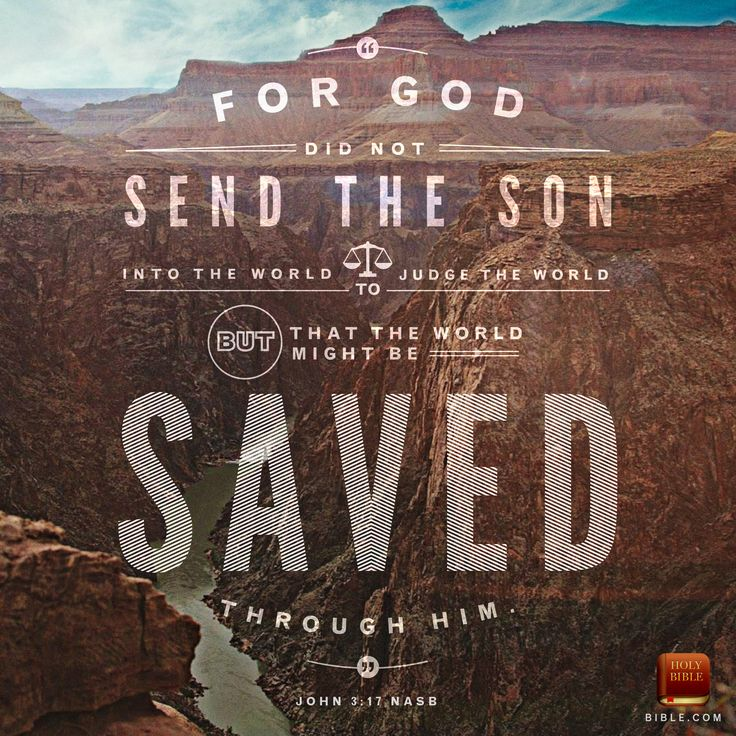 John 3:17 via http://blog.youversion.com/vod/