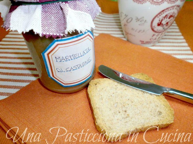 marmellata di castagne ricetta