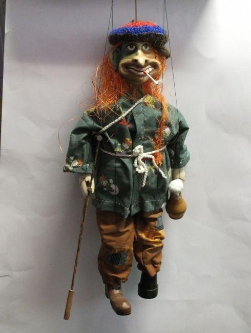 Loutka - Žebrák, 43 cm