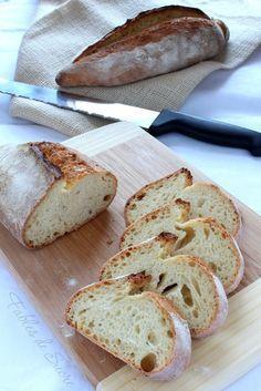 Pane di semola con lievito madre   Fables de Sucre