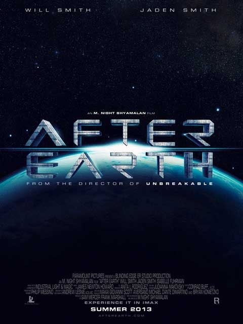 New sci-fi movie from M. Night Shyamalan starring Will Smith and son - After Earth.