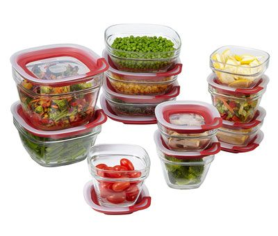 1. Rubbermaid 1865887 22-Piece Set Food Storage Container