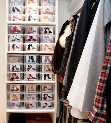 chaussures : idée rangement