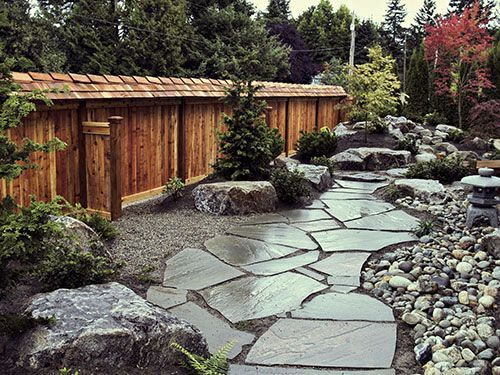 Japanese Garden Fence Design fences in a japanese style garden misugaki fence panels in a garden Find This Pin And More On Down The Garden Path Japanese Wood Fence