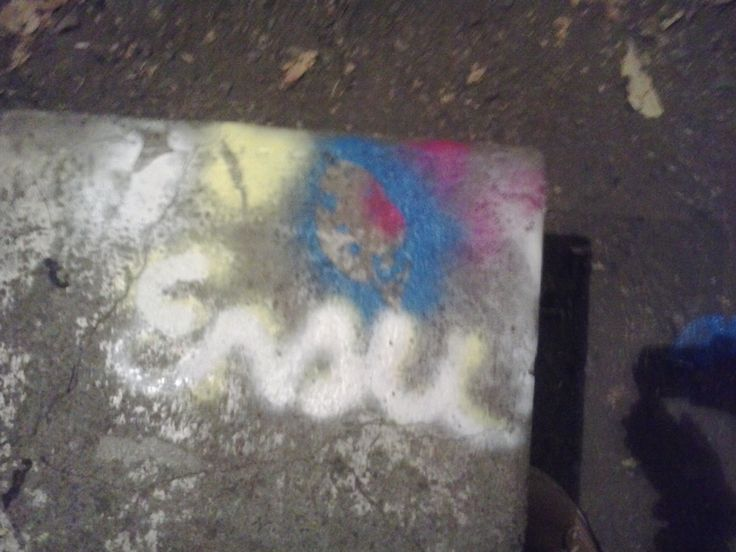 Ensu in the street