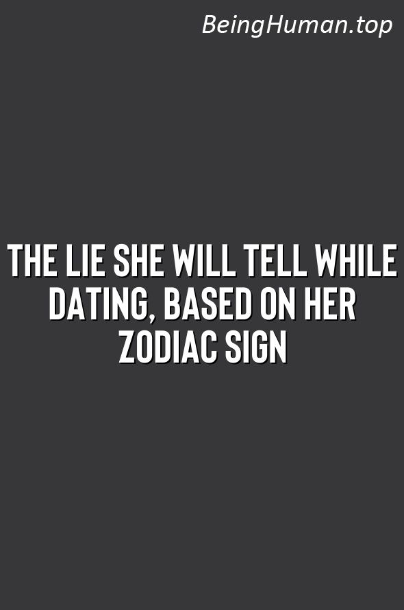 White lie dating