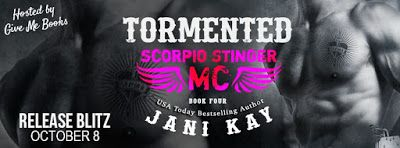 Spreading The Word With Denise&Donna: Tormented by Jani Kay Release Blitz & Rafflecopter...