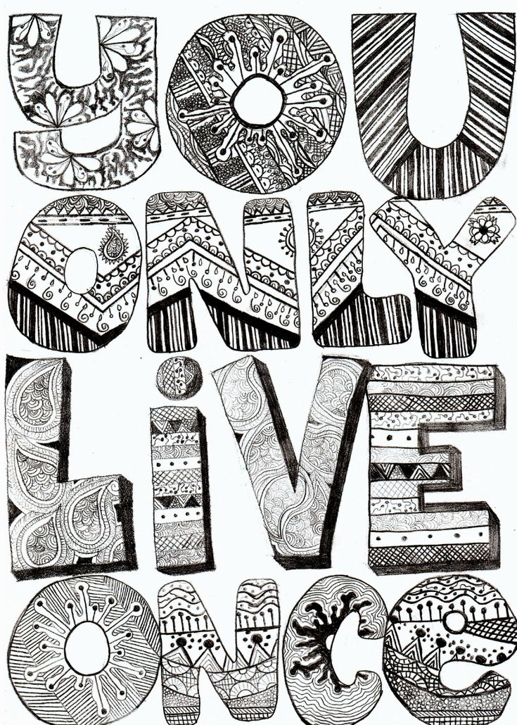 .: Yolo, Decor Letters, The Strokes, Quotes, Doodle, Pink Bra, Hands Letters, Life Mottos, Design