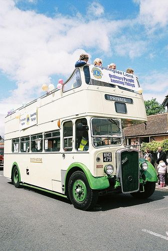 Eastern Nayional - Open Top Bus at Brightlingsea Carnival | Flickr - Photo Sharing!