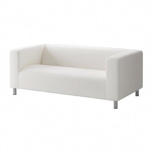 Ikea Klippan Two Seat Sofa Ransta White Livingroomsofaideasrustic Seater Sofa Living Room Sofa Sofa Inspiration