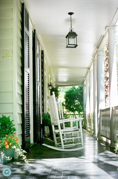 Southern porch- the perfect depth