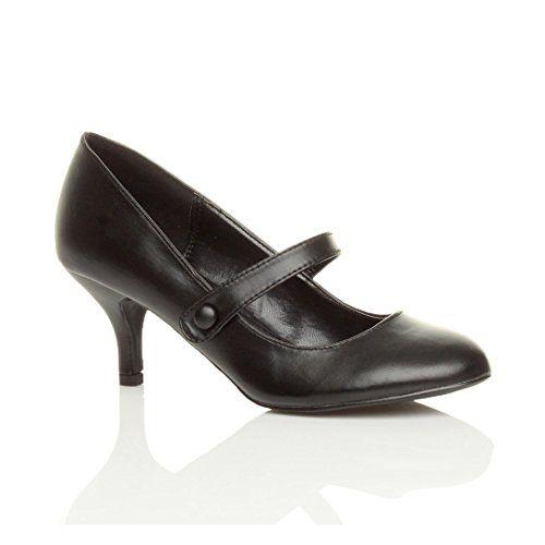 Damen Hoher Absatz Mary Jane Formal Abend Party Ball Pumps Schuhe Größe 8 41 - http://on-line-kaufen.de/ajvani/41-eu-8-uk-damen-hoher-absatz-mary-jane-formal-abend-5