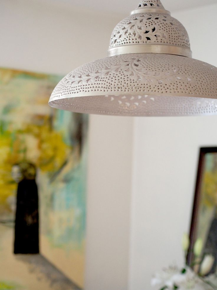 Lamp like lace | Laura's home | Photo: Pupulandia