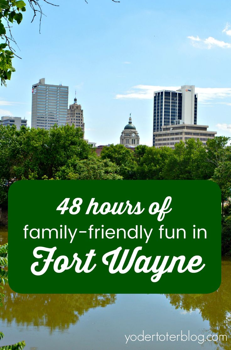 Fort Wayne, Indiana is the perfect city for families!  Here's how to spend 48 hours in the city with your children.  This Midwestern city is close to home for many from Indiana, Ohio, Michigan, and Illinois- an easy long weekend!