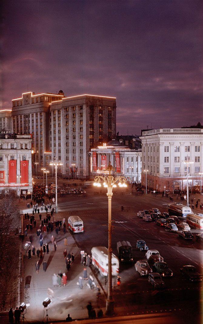 Moskow 50th. Denver university collection. Советские фотографии из архивов Денверского университета