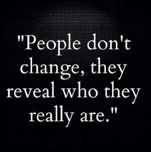 Wisdom! If you learn to believe who they are showing you that they are you will save yourself a lot of heartache.