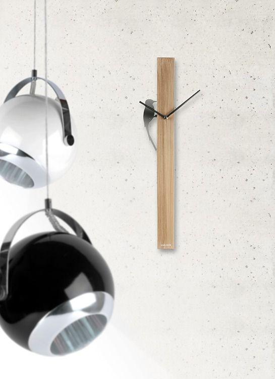 Dizajnové nástenné hodiny Karlsson.
