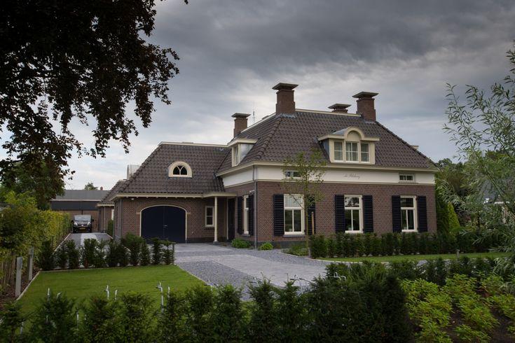 Nieuwbouw landhuis te IJsselmuiden | Dijkhof Bouw
