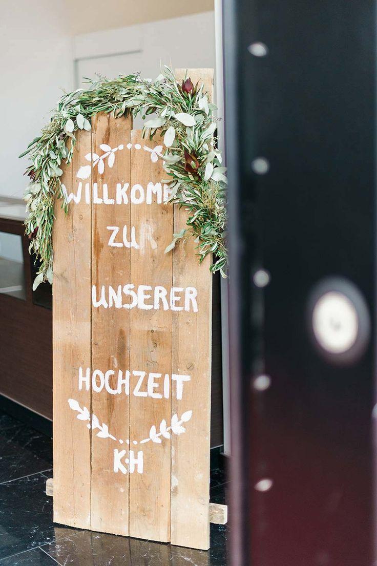 27 best Willkommensschilder images on Pinterest | Hochzeiten ...