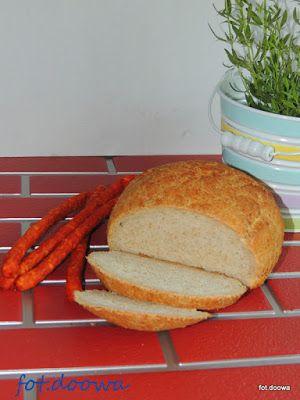 Teraz to już nikt mi się nie wymiga, tak szybko jeszcze nie było.  Chleb ten wyrasta 15 minut + wypiekanie czyli chleb do wypieku przez każd...