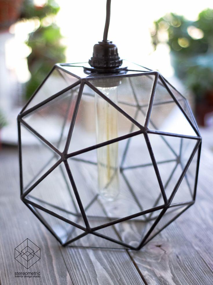 Keppler Snub <b>Cube</b> Large Chandelier with <b>Vintage</b> Bulb <b>Lamp</b> in ...