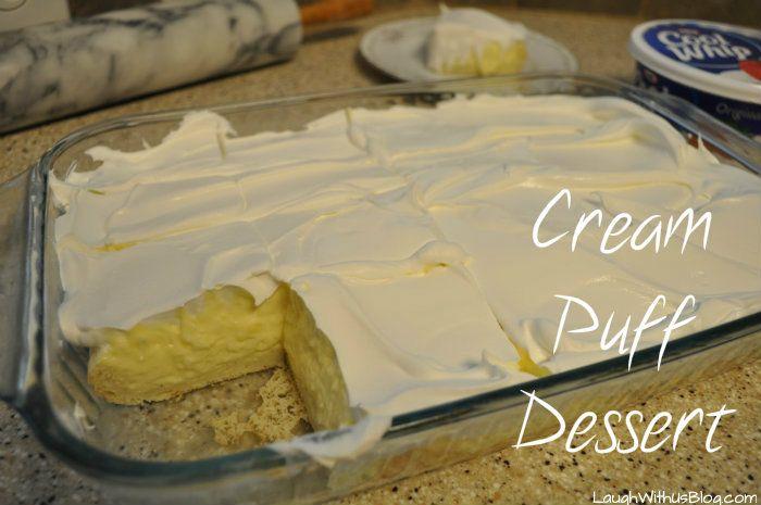 Cream Puff Dessert Recipe | Laugh With Us Blog