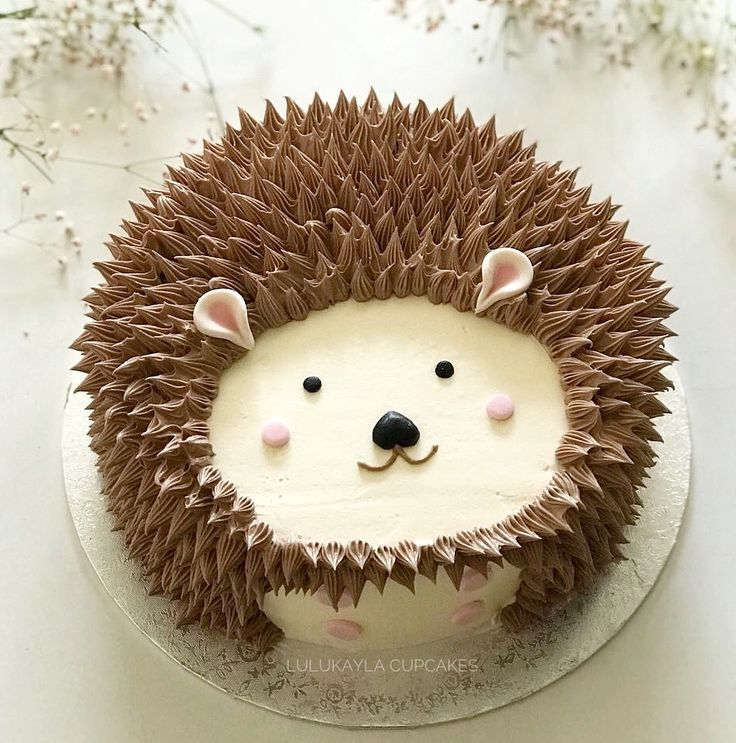 Gâteau de hérisson – Kuchen / Dessert – #de # gâteau # hérisson #Dessert …   – Gateau anniversaire