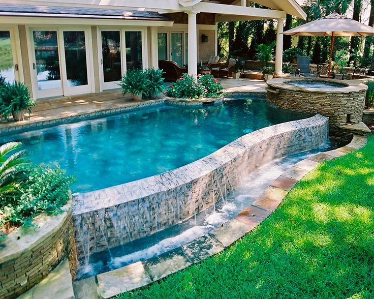 22 best images about pool landscaping on pinterest small for Pool 22 design