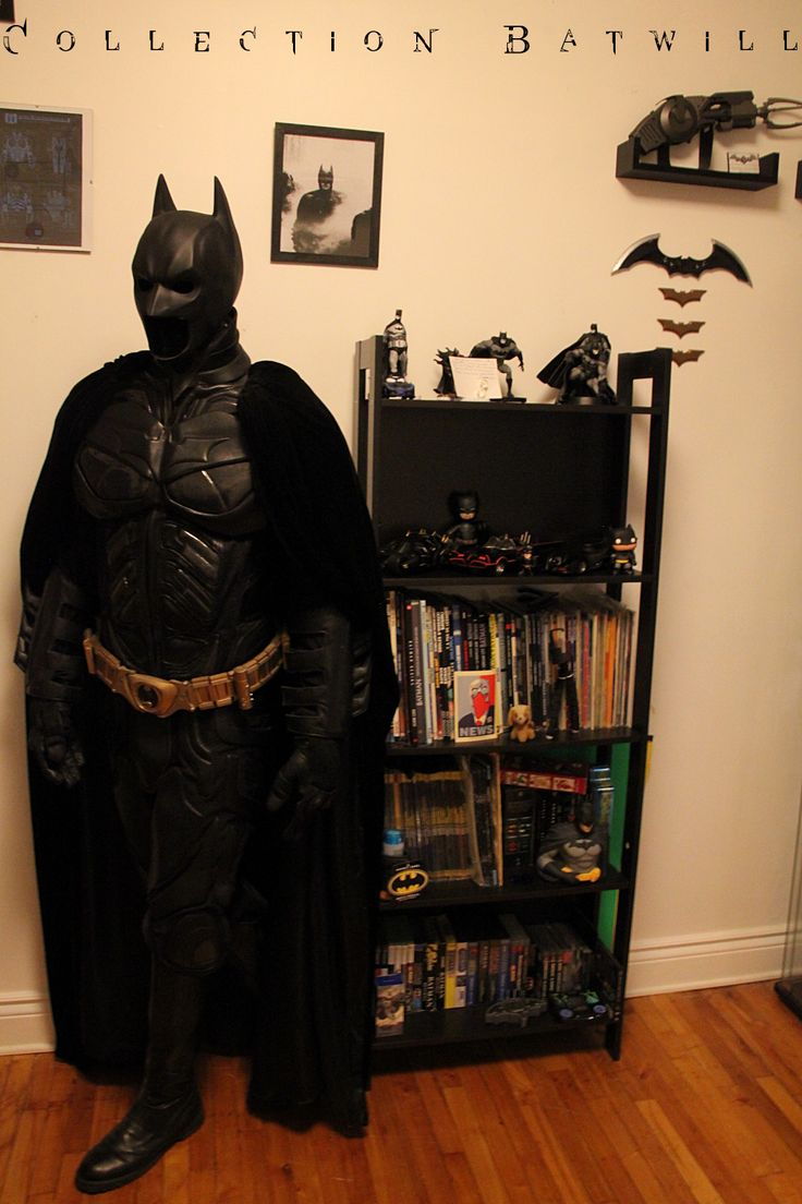 Batwill batman collection room ben pinterest batman - Man cave ideas for small spaces collection ...