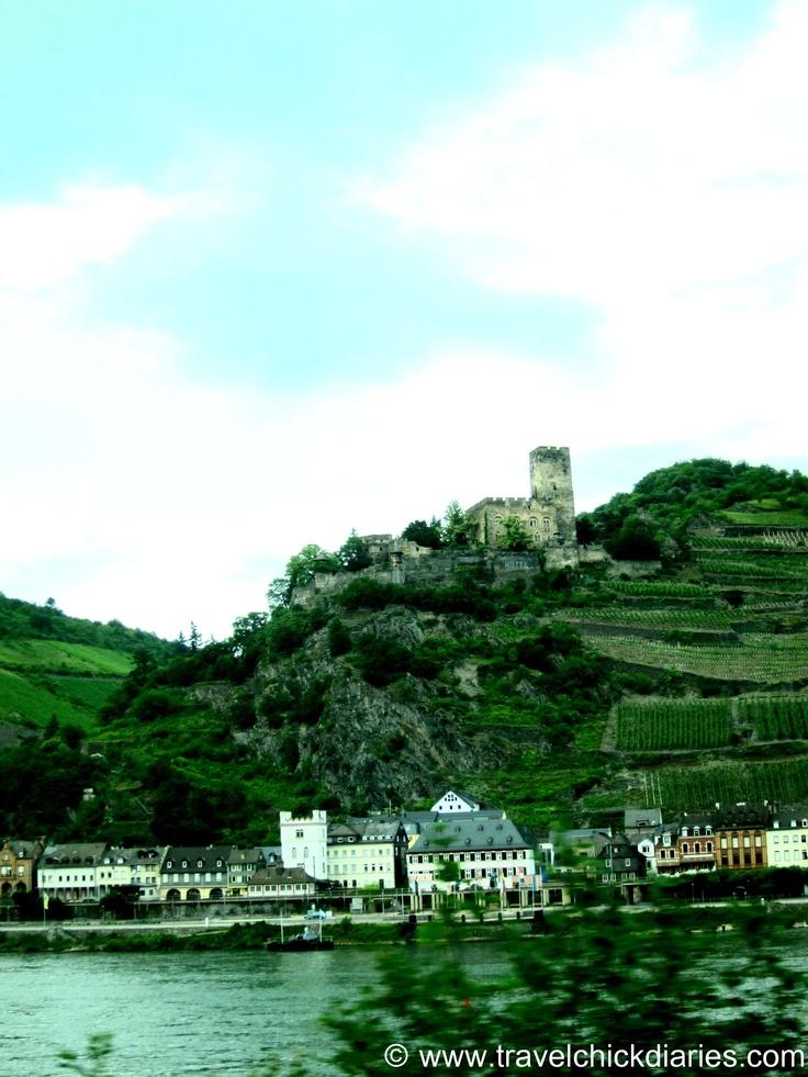 I fell in love...St. Goar Wine Region Germany #travel ©TravelChickDiaries