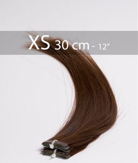 Extensions Adhésives 30cm Noir Naturel 1B