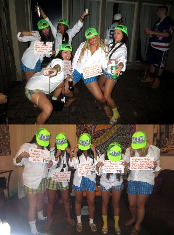 Group Costumes | Living the life of a frat star. #TFM