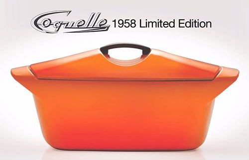 Le Creuset reissues 1958 Raymond Loewy designed Coquelle dutch oven