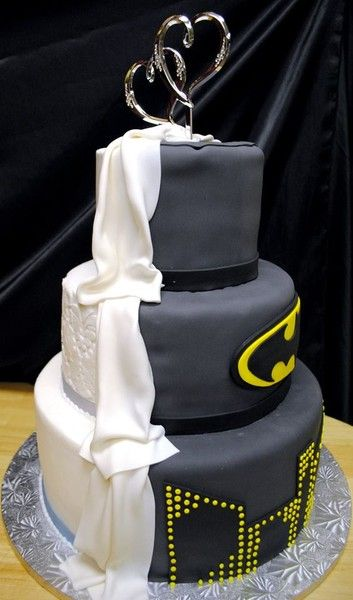 Batman Themed Wedding Whether it's just a love for comic books, or a lifelong passion for Batman, many couples looking for a unique wedding theme have turn