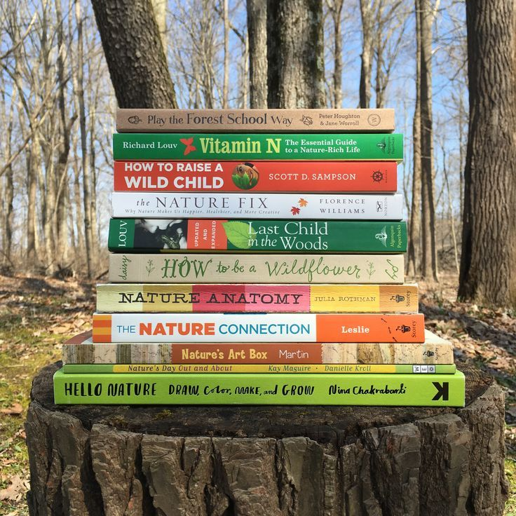 Books To Inspire Outdoor Play Learning Books Homeschool Nature Study Forest School